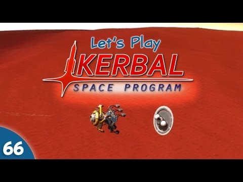 Kerbal Space Program - #066 - Duna Rover Landing with Skycrane