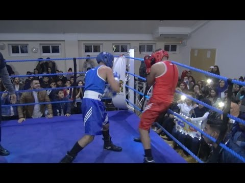 CRAZY BOXING FIGHT!!! ADAM SALEH vs. NAZ (FULL FIGHT)