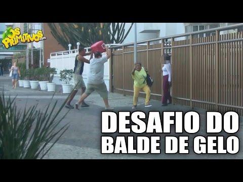 DESAFIO DO BALDE DE GELO (ICE BUCKET PRANK)