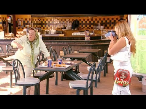 JFL Hidden Camera Pranks & Gags: Crazy Grandma, Crazy Photos