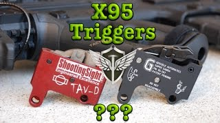 IWI X95 Aftermarket Triggers, Do They Work???