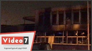 بالفيديو .. الحماية المدنية تسيطر على حريق نادى السكة الحديد