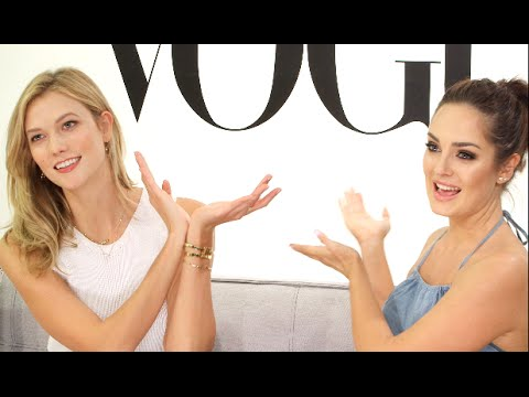 3 Minutes with Karlie Kloss! \\ Vogue X Chloe Morello