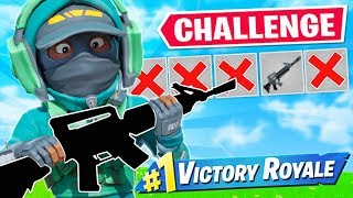 WINNING with ONE GUN ONLY Challenge!