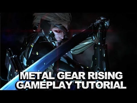 Metal Gear Rising Blade Mode & Combat Training Gameplay