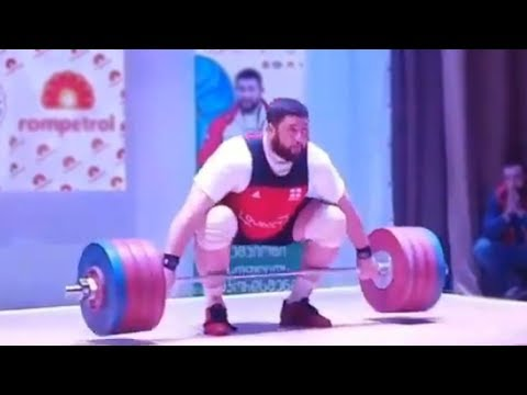 220 kg Snatch – Lasha Talakhadze | Unofficial World Record