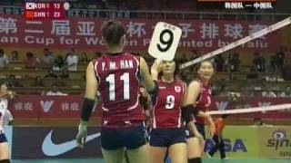 100921 2nd Asian Cup CHN vs KOR 4/6