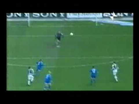 Juve-Brescia 1-1: Roby Baggio gol stupendo
