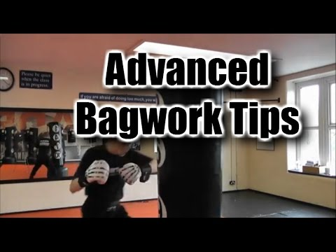 Heavy Bag Boxing Combination try on Three Bags Image 1