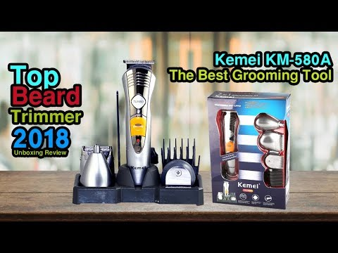 free video kemei trimmer on. Black Bedroom Furniture Sets. Home Design Ideas