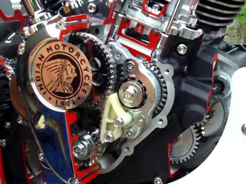 New Indian Motorcycle engine - YouTube