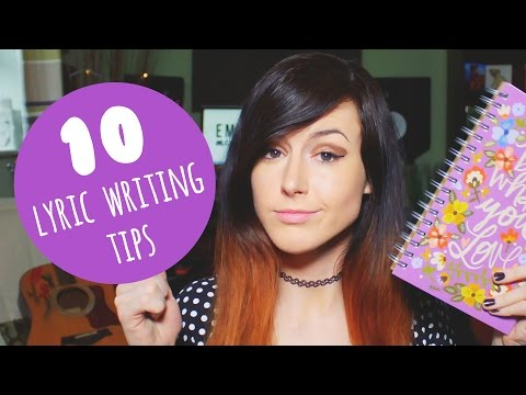 10 Lyric Writing Tips for Beginners