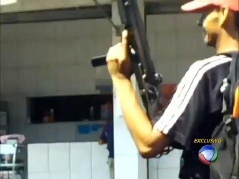 Imagens exclusivas mostram traficantes momentos antes da ocupação no complexo do Caju