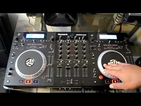 Numark Mixdeck Quad 4-Channel Universal DJ System Review Video