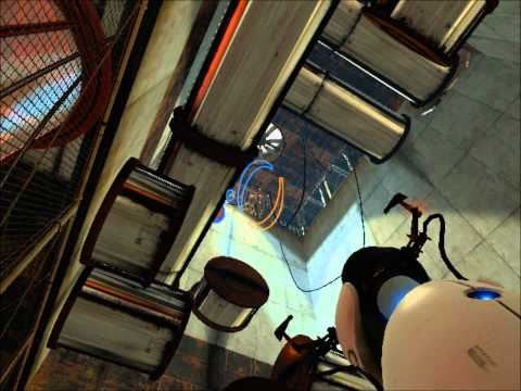 Portal WalkThrough The Escape (After Test Chamber 19) HD (Gameplay)