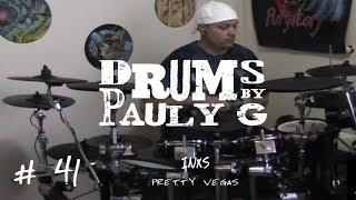 INXS - Pretty Vegas (Drum Cover) by Paul Gherlani