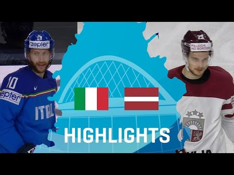 Italy - Latvia | Highlights | #IIHFWorlds 2017
