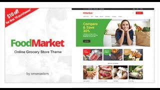 Food Market - Food Shop & Grocery Store WordPress Theme | Themeforest Download
