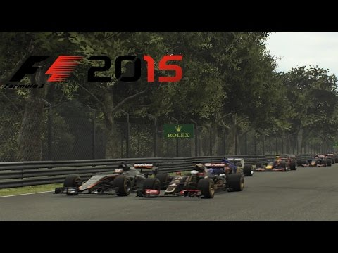 F1 2015 - Italy Monza GP - Hülkenberg Force India Gameplay [ HD ]