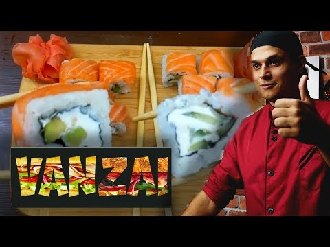 vanzai обзор рецепта - Самая популярная доставка VS Домашние роллы Филадельфия