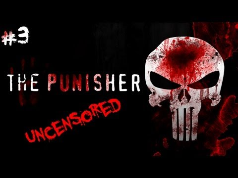 The Punisher - Walkthrough Part 3: Lucky's Bar (Uncensored)