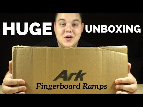 BEST FINGERBOARD RAMPS I'VE EVER TRIED!!! (Ark Ramps Unboxing/Review)