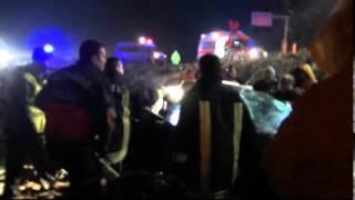 Salihli'de ölümlü kaza