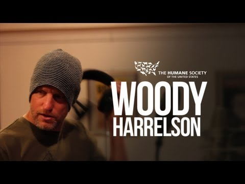 Woody Harrelson - Behind the Scenes for HSUS