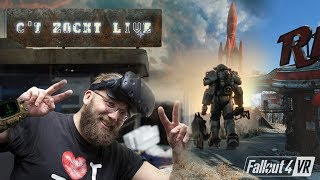 c't zockt LIVE: Fallout 4 VR -- Let's Play