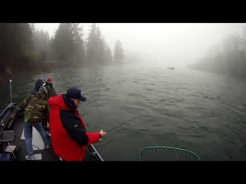 Salt Patrol Fishing Steelhead on Cowlitz River