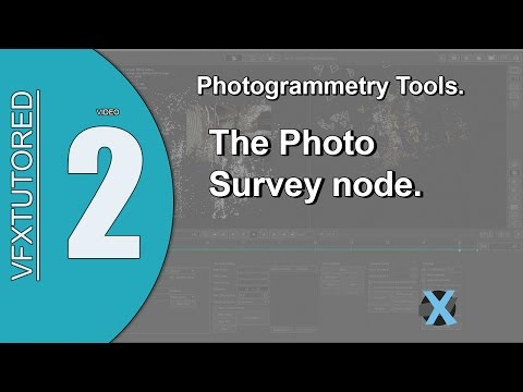 PFTrack 2017 Preview of Tutorial 2 - Photogrammetry Tools - Photo Survey Node
