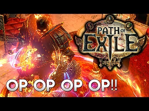 The Most OP Solo Build in Path of Exile