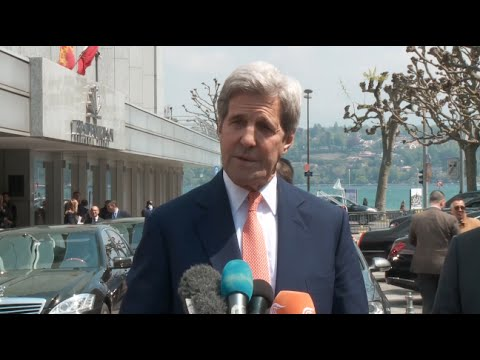 Kerry, de Mistura Call for Ceasefire Throughout Syria