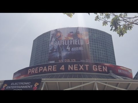 E3 VLOG - Picking up my E3 Badge (Electronic Entertainment Expo 2013) - E3M13
