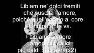 La Traviata Libiamo Ne 39 Lieti Calici Maria Callas Testo