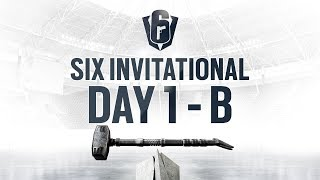 Rainbow Six | Six Invitational 2019 – Groupstage - Day One – Stream B