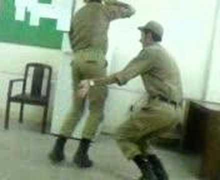 Iranian Soldiers Dancing رقص سربازان ایرانی