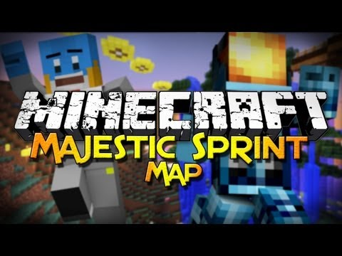 Minecraft: Majestic Sprint Map w/ HuskyMudkipz!