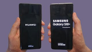 Huawei P30 Pro vs Galaxy S10+ Speed Test, Battery Life, Speakers & Cameras!