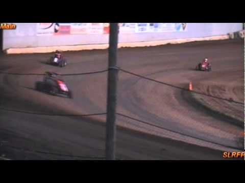 Cottage Grove Speedway, OR The first Dirt race of the 2011 Season for the WMRA Midget Club. Not a lot of cars. But a good race,