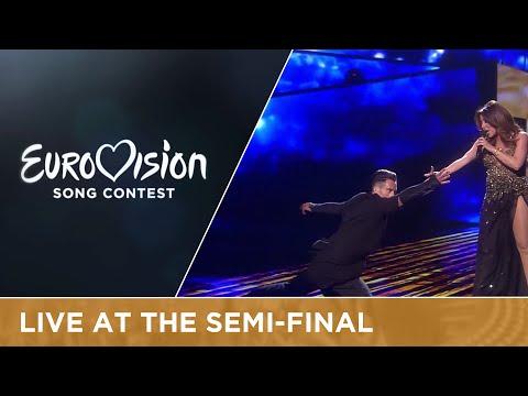 Ira Losco - Walk On Water (Malta) Live at Semi - Final 1 of the 2016 Eurovision Song Contest