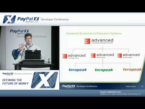 PayPal X Innovate 2010: Business Intelligence and Merchant Reporting