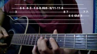 Ikk Kudi Guitar Lesson | Udta Punjab | Diljit Dosanjh - Amit Trivedi