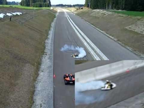 Camaro Quarter Mile on Monsterkart 6   1 4 Mile Kart Vs  Ktm X Bow And Yamaha Vmax