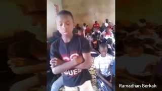 Amazing Quran Recitation from Young African