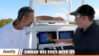 Simrad NSS evo3 With IPS Screen Technology: First Look Video