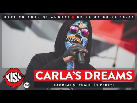 Carla's Dreams - Lacrimi și pumni în pereți (Live @ KissFM)