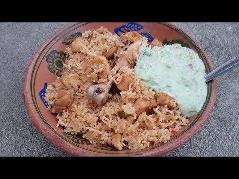 Chicken Pulao With Raita Recipe | Village Style Pulao With Raita | Village Food Secrets