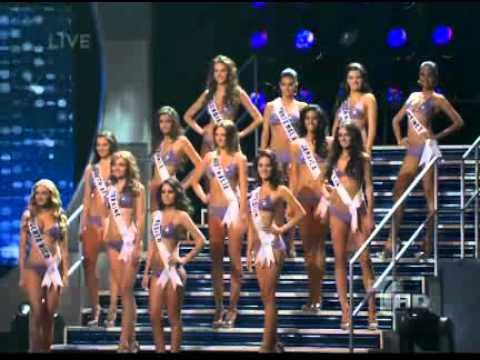 Miss Universo 2010 anuncio de las 10 finalistas