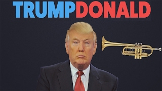 TRUMP DONALD | USE A TRUMPET AND MESS WITH DONALD